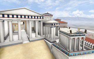 Η Αθήνα του 5ου αιώνα π.Χ. ζωντανεύει με τη χρήση νέων τεχνολογιών και γραφικών.
