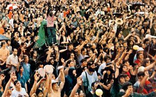 Το μισό εκατομμύριο των νέων που κατέκλυσαν το Γούντστοκ το τριήμερο 15, 16 και 17 Αυγούστου 1969, συμμετείχε –υπό αντίξοες συνθήκες– σε ένα από τα σημαντικότερα μουσικά γεγονότα της σύγχρονης ιστορίας.