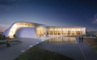 Η χωροθέτηση του Thess-INTEC (μακέτα) σχεδιάζεται να γίνει σε έκταση 700 στρεμμάτων δυτικά του αεροδρομίου «Μακεδονία».