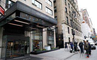 Το δωμάτιο ξενοδοχείου του Μάικλ Κοέν ερεύνησε το FBI στη Νέα Υόρκη.