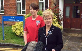 Η δρ Κριστίν Μπλανσάρ του νοσοκομείου του Σάλσμπερι ανακοίνωσε χθες ότι η 33χρονη Σκριπάλ πήρε εξιτήριο.