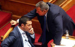Σε διαρκή επικοινωνία βρίσκονται καθημερινά ο πρωθυπουργός Αλέξης Τσίπρας και ο υπουργός Εθνικής Aμυνας Πάνος Καμμένος, σύμφωνα με κυβερνητικές πηγές.
