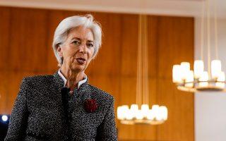 «Η εικόνα της παγκόσμιας οικονομίας είναι θετική. Ωστόσο, βλέπουμε μαύρα σύννεφα να συγκεντρώνονται», δήλωσε η Κριστίν Λαγκάρντ, υπενθυμίζοντας ότι το διεθνές εμπορικό σύστημα περιόρισε την ακραία φτώχεια.