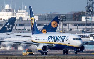 Στις 50.000 θέσεις υπολογίζεται η επίπτωση από την αναστολή διεθνών πτήσεων τηςRyanairστα Χανιά, όπου η εταιρεία κλείνει και τη βάση της.
