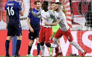 Σπουδαία πρόκριση πήρε η Ζάλτσμπουργκ, η οποία επικράτησε με 4-1 της Λάτσιο, ανατρέποντας την ήττα με 4-2 στο πρώτο παιχνίδι της Ιταλίας.