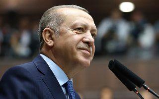 Προς εκλογές με σημαία τον εθνικισμό οδεύει ο Ταγίπ Ερντογάν.