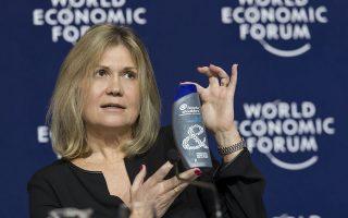 Η κ. Βιρζινί Ελιάς είναι αντιπρόεδρος, αρμόδια για θέματα Παγκόσμιας Βιωσιμότητας στην Procter & Gamble International Operations.