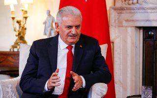 «Είναι απαράδεκτο να προστατεύονται από την Ελλάδα άνθρωποι που συμμετείχαν στην απόπειρα πραξικοπήματος κατά του Ερντογάν τον Ιούλιο του 2016», ανέφερε ο Γιλντιρίμ.