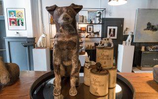 Το Μουσείο του Σκύλου άνοιξε τις θύρες του πέρυσι στη Μασαχουσέτη. Η έκθεση περιλαμβάνει 180 έργα τέχνης με θέμα τους σκύλους.