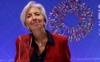 Η επικεφαλής του ΔΝΤ Κριστίν Λαγκάρντ τονίζει ότι ο μηχανισμός ελάφρυνσης θα πρέπει να είναι αυτόματος και ανεξάρτητος από πολιτικές πιέσεις.