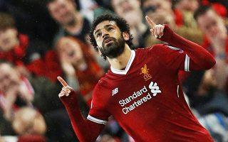 Με δύο γκολ (το ένα highlight) και δύο ασίστ, ο Σαλάχ υπέγραψε φαρδιά πλατιά τον χθεσινό θρίαμβο της Λίβερπουλ επί της Ρόμα με 5-2.