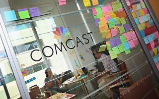 Η συγχώνευση της Comcast και του Sky θα μπορούσε να δημιουργήσει έναν κολοσσό με περισσότερους από 50 εκατ. συνδρομητές σε ΗΠΑ και Βρετανία.