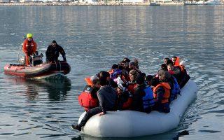 Τον Απρίλιο έφθασαν στα νησιά 2.168 πρόσφυγες και μετανάστες.