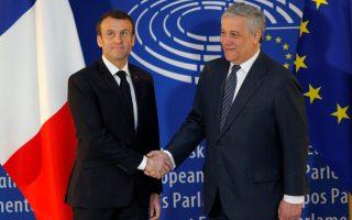 Στην Ολομέλεια του Κοινοβουλίου θα μιλήσει και ο Πρόεδρος της Γαλλίας, Εμανουέλ Μακρόν, ο οποίος θα είναι μάλιστα ο τέταρτος Ευρωπαίος ηγέτης που θα συζητήσει το μέλλον της Ευρώπης με τους ευρωβουλευτές.
