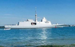 Το Μαξίμου αφήνει να εννοηθεί ότι οι συζητήσεις με τη Γαλλία δεν περιορίζονται στην πιθανή ενοικίαση των φρεγατών FREMM, αλλά αφορούν μια ευρεία γκάμα πιθανοτήτων ως προς τη ναυτική συνεργασία.