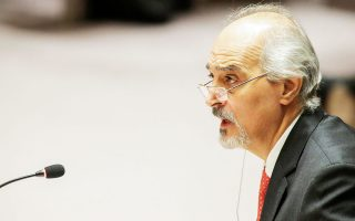 Ο πρεσβευτής της Συρίας στον ΟΗΕ Μπασάρ αλ Τζααφάρι