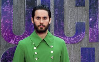 epa05453709 US actor/cast member Jared Leto  arrives for the European premiere of 'Suicide Squad' in Leicester Square, London, Britain, 03 August 2016. The movie, which is the latest in the DC Comic book adaptation, will be released on 05 August 2016.  EPA/WILL OLIVER