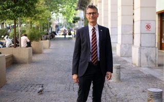 Ο Μίκελ Κόλμαν, πρόεδρος της Διεθνούς Ενώσεως Εκδοτών (IPA), επισκέφθηκε την Αθήνα με αφορμή την Παγκόσμια Πρωτεύουσα Βιβλίου 2018 που διοργανώνεται στην πρωτεύουσα.