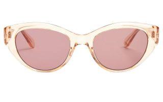 Ροζ γυαλιά ηλίου με 60s διάθεση €276,00