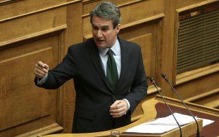 Ο βουλευτής της ΔΗΣΥ Ανδρέας Λοβέρδος μιλάει στη συζήτηση στην Ολομέλεια της Βουλής για την κύρωση του Κρατικού Προϋπολογισμού οικονομικού έτους 2018, Αθήνα, Δευτέρα 18 Δεκεμβρίου 2017. ΑΠΕ-ΜΠΕ/ΑΠΕ-ΜΠΕ/ΣΥΜΕΛΑ ΠΑΝΤΖΑΡΤΖΗ