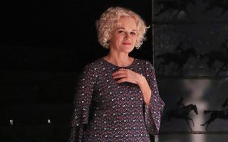 Η Μαρία Κεχαγιόγλου κατακτά αργά αλλά σταθερά τις εντυπώσεις.
