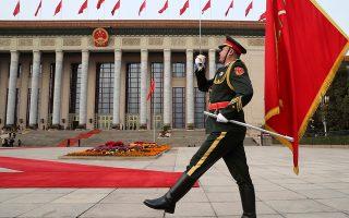 Οι αμυντικές δαπάνες της Κίνας αυξήθηκαν κατά 5,6%, φθάνοντας τα 228 δισ. δολάρια, σχεδόν ένα τρίτο των δαπανών των ΗΠΑ.