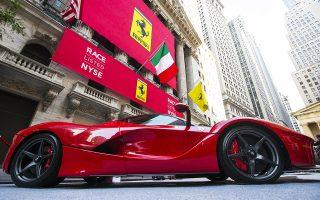Η τιμή της μετοχής της Ferrari ενισχύθηκε χθες στο Μιλάνο κατά 6,6%, φθάνοντας τα 112,25 ευρώ. Πλέον, η χρηματιστηριακή αξία της εταιρείας ανέρχεται σε 20,7 δισ. ευρώ.