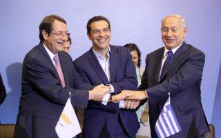 Στιγμιότυπο από παλαιότερη συνάντηση των τριών ηγετών.