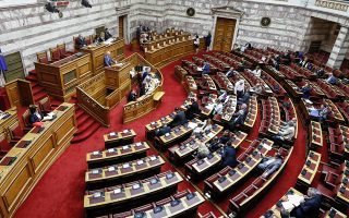 Στη χθεσινή συνεδρίαση στην Ολομέλεια της Βουλής, οι διαφωνούντες του ΣΥΡΙΖΑ δεν ζήτησαν να λάβουν τον λόγο.