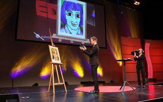 Η εφαρμογή του εργαστηρίου της Disney επιτρέπει στους χρήστες να αλληλεπιδρούν με τους πίνακες των μουσείων.
