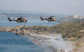 Παρά τη Διακλαδική Διεθνή Ασκηση των τουρκικών ενόπλων δυνάμεων «EFES '18», η κατάσταση στο Αιγαίο τις τελευταίες ημέρες ήταν πιο ήρεμη.