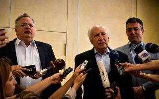 Οι κ. Κοτζιάς, Νίμιτς και Ντιμιτρόφ θα έχουν ένα διπλωματικό ράλι με συνεχείς επαφές μέχρι το τέλος Ιουνίου.
