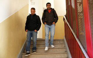 Αιτούντες άσυλο από το Αφγανιστάν και το Μπανγκλαντές μετά το μάθημα γαλλικής γλώσσας στη Σχολή Πολιτικών Επιστημών στο Παρίσι.