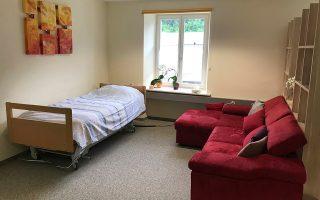 Σε ένα τέτοιο δωμάτιο στη Λίσταν, κοντά στη Βασιλεία, ο Αυστραλός καθηγητής Ντέβιντ Γκούντολ άφησε την τελευταία του πνοή.