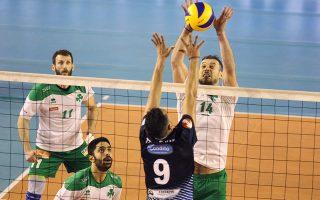 Μετά τη σωτηρία του ανδρικού τμήματος βόλεϊ, ο Δ. Γιαννακόπουλος βάζει στόχο τη διεκδίκηση του τίτλου.