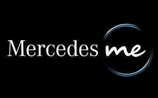 Logo Mercedes me. Logo Mercedes me.