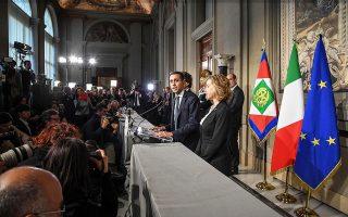 Ο επικεφαλής του Κινήματος 5 Αστέρων Λουίτζι ντι Μάιο εξέρχεται από μία ακόμη συνάντηση με τον πρόεδρο της Δημοκρατίας, Σέρτζιο Ματαρέλα.