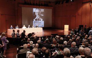 Κατάμεστη ήταν χθες η αίθουσα «Δημ. Μητρόπουλος» στο Μέγαρο Μουσικής, όπου ο κ. Ιω. Βαρβιτσιώτης παρουσίασε τον δεύτερο τόμο του βιβλίου του «Οπως τα έζησα».