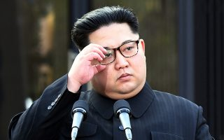 Ο επικεφαλής της Βόρειας Κορέας Κιμ Γιονγκ Ουν.