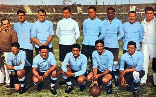 Μπαγιεστέρος, Νασάσι, Μαστσερόνι, Αντράδε, Φερνάντες, Χεστίδο, Ντοράδο, Ιριάρτε, Σκαρόνε, Σέα, Κάστρο και ο προπονητής Αλμπέρτο Σούπισι. Η ομάδα εκείνη φιλοδώρησε με 6 γκολ τη μεγάλη τότε Γιουγκοσλαβία και με 4 γκολ την Αργεντινή.