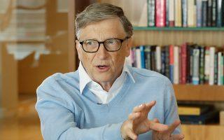 Ο ιδρυτής της Microsoft Μπιλ Γκέιτς.