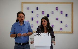 Το μέλλον του Πάμπλο Ιγκλέσιας και της Ιρένε Μοντέρο στο Podemos θα κρίνει το εσωκομματικό δημοψήφισμα.