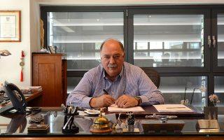 Ο πρόεδρος της εταιρείας κ. Ορφέας Μοσχόπουλος-Βεϊνόγλου.