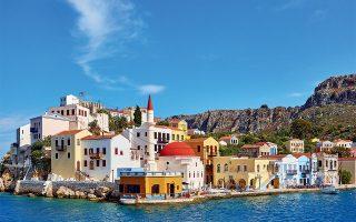 Ο οικισμός με τα πολύχρωμα αναπαλαιωμένα σπίτια. (Φωτογραφία: © ΓΙΩΡΓΟΣ ΤΣΑΦΟΣ)