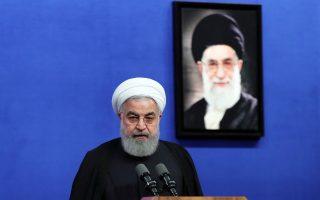 Ο Χασάν Ροχανί απέρριψε τις προειδοποιήσεις της αμερικανικής κυβέρνησης για επιβολή νέων κυρώσεων.