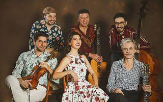 Συναυλία από τους Gadjo Dilo στο Gazarte.