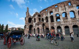 Η πολιτική αβεβαιότητα σε χώρες όπως η Ιταλία ενδέχεται να υπονομεύσει την οικονομική σταθερότητα.