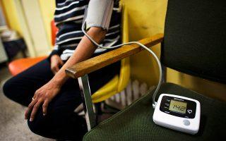 Στην Ελλάδα εκτιμάται ότι το 30% του πληθυσμού έχει υπέρταση.