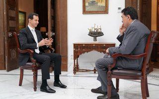 Για «νέου τύπου παγκόσμιο πόλεμο» στη Συρία μίλησε ο Μπασάρ αλ Ασαντ στον Αλέξη Παπαχελά, προτού ακόμη εκδηλωθεί η σύγκρουση Ιράν - Ισραήλ.