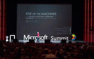 Ο James Whittaker, Microsoft Distinguished Engineer & Visionary, έδωσε μία ομιλία που ενθουσίασε τους  συμμετέχοντες του συνεδρίου.
